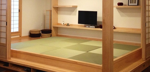 ... A Room, The Atmosphere Becomes That Of A Ryokan (traditional Japanese  Inn). It May Be A New Experience, But Please Try Lying Down On Tatami.